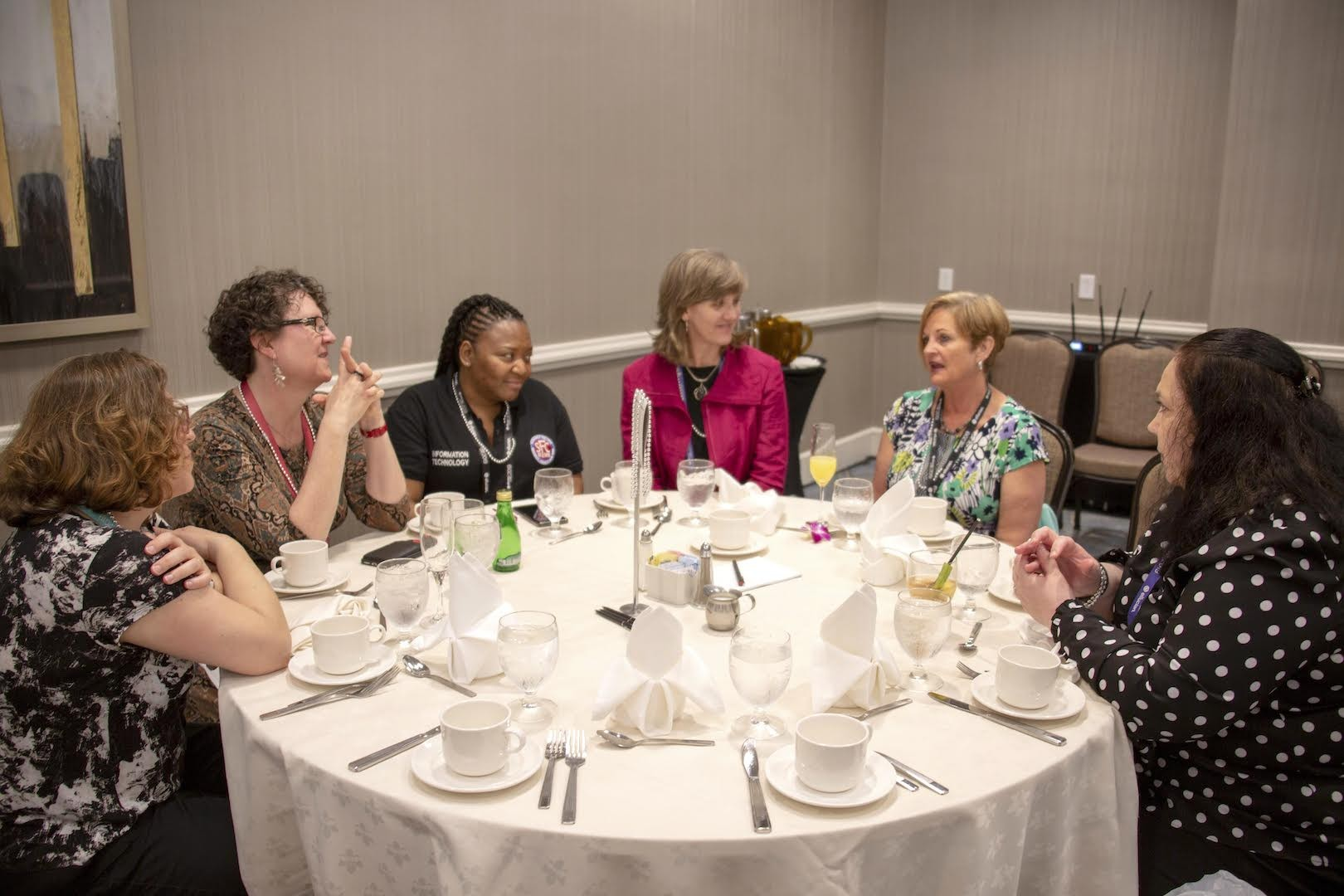 Women in ed tech exchange advice at Ellucian Live