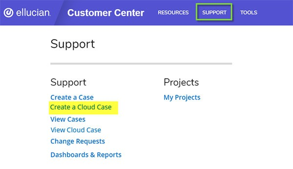 Cloud Customer Center