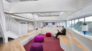 News Article - Ellucian headquarters interior design