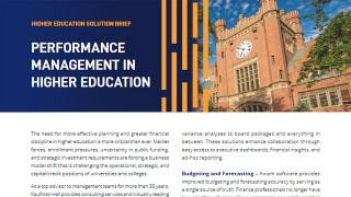 Montana State University, Transforms Data Integration, Budgeting, Reporting, and Labor Planning with Axiom Software