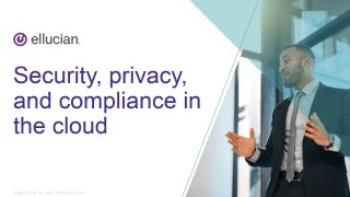 Cloud Discovery Series - Security, privacy, and compliance in the cloud