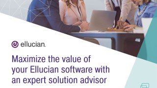 Maximize the value of your Ellucian software with an expert solution advisor