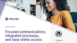 Focused communications, integrated processes, and easy online access