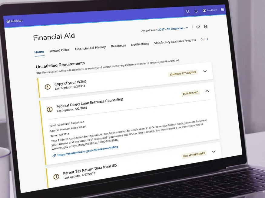 Financial Aid Software